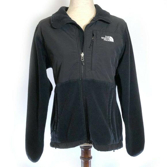 The North Face Denali Black Fleece & Nylon Jacket